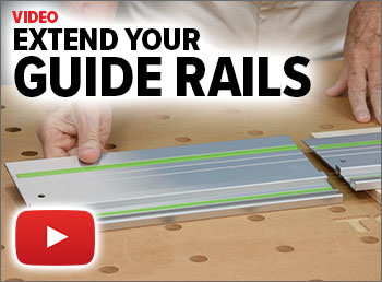 Watch this video to see how the GRE-13 stretches your guide rail!