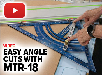 Watch this video to see how to perform easy angle cuts with the MTR-18.