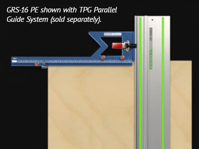 Connect your GRS-16 PE to the TSO Parallel Guide System